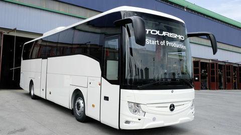 Spustili produkciu nového autobusu Mercedes-Benz Tourismo