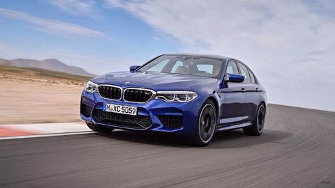 Unikli prvé zábery výnimočného BMW M5. Má pohon všetkých kolies