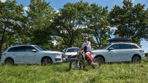 Audi naďalej podporuje Petru Vlhovú