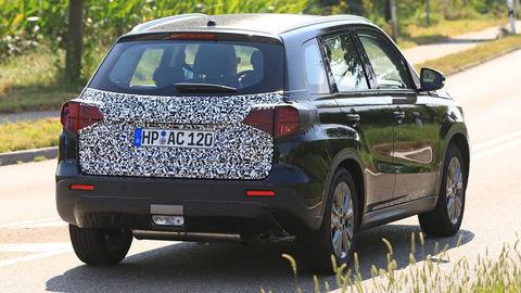 Modernizované Suzuki Vitara ukázalo nové zadné svetlá