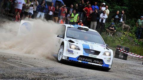 Pavel Valoušek na premiérovej Rally Trebišov porazil Kočiho aj Grzyba
