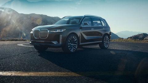 Štúdia BMW Concept X7 iPerformance je predobrazom modelu, ktorý príde o rok.