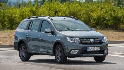 Dacia Logan MCV Stepway 0,9 TCe: Kombi s väčším nadhľadom