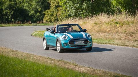 Mini Cooper Cabrio: Letné osvieženie