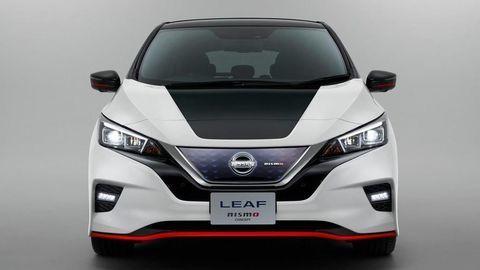 Nissan odhalil športový elektromobil Leaf Nismo