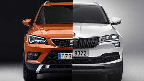 SEAT Ateca alebo Škoda Karoq? Prehľad cien, motorov aj dodacích lehôt