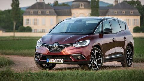 Renault GrandScénic 1.6 dCi DCT: Veľké kolesá nie sú problém ani na českej D1