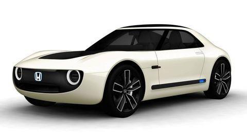 Honda predviedla pekné kupé a päť bizarných prototypov