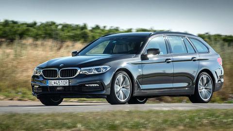Motoring:  Porovnávali sme zimné pneumatiky pre SUV a otestovali BMW 530d Touring
