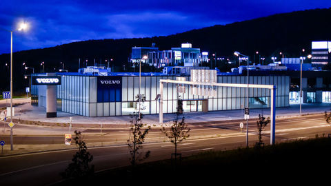 Najväčší anajreprezentatívnejší komplex Volvo v SR