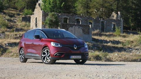 Renault Grand Scénic 1,6 dCi: Obytný automobil