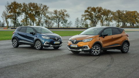 Renault Captur 1,2 TCe, 1,5 dCi: Benzín jazdí lahodne, diesel úsporne