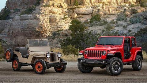 """Nový Jeep Wrangler prichádza aj s """"lahkým"""" hybridom"""