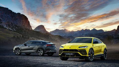 Prvé SUV od Lamborghini odhalené