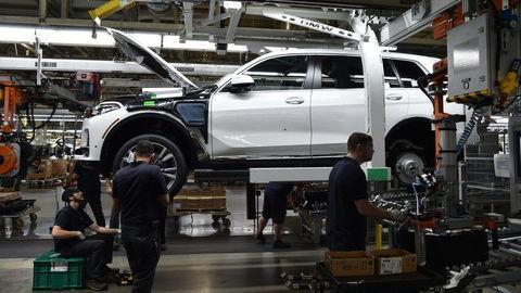 BMW X7 už zbieha z pásov