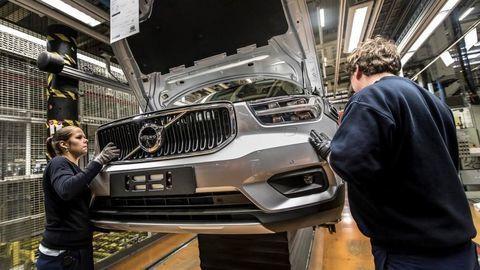 Nové Volvo XC40 už vyrábajú v Belgicku