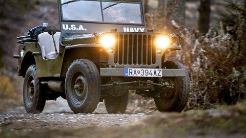 Motoring: Jeep Willys bol traktor, BVP aj tank