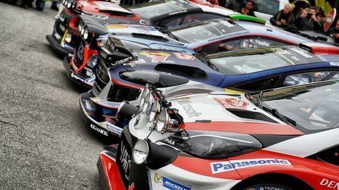 Továrenské tímy predstavili špeciály WRC pre sezónu 2018