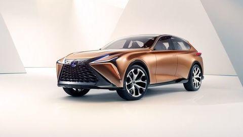 Luxusný crossover Lexus je pripravený na rôzne typy pohonu