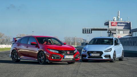 Honda Civic Type R & Hyundai i30 N: Súboj hot-hatchov