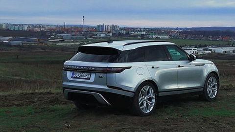 Motoring: Vyskúšali sme Range Rover Velar a videli autosalón vo Viedni