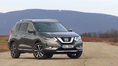 Nissan X-Trail 1,6 DIG-T: Benzínové SUV