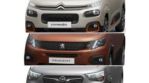 Nový Citroën Berlingo, Opel Combo a Peugeot Partner na prvom obrázku