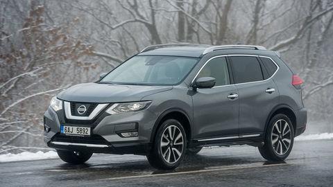 Redakčný Nissan X-Trail a jeho konkurenti