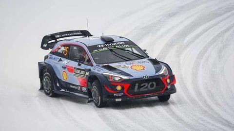 Thierry Neuville vyhral vo Švédsku