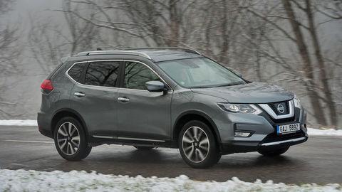 Nissan X-Trail 1.6 DIG-T: Stále udivuje nízkou spotrebou