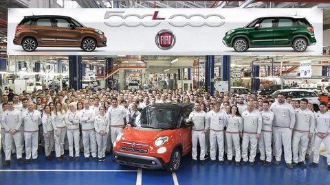 V Srbsku vyrobili polmiliónty Fiat 500L