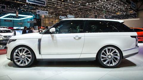 Luxusný Range Rover sa premenil na exkluzívne kupé