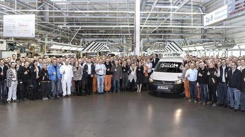 VPoľsku vyrobili 2-miliónty VW Caddy