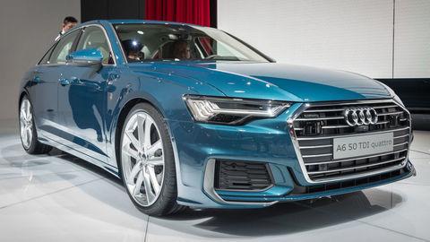 """Audi predviedlo nový sedan A6 a """"tajný"""" elektrický prototyp"""