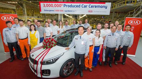 Kia Motors Slovakia vyrobila 3-miliónte auto