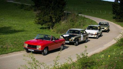 Veteráni Peugeot smerujú do Česka