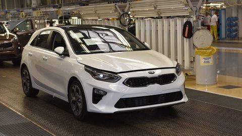 Kia odštartovala výrobu nového modelu Ceed
