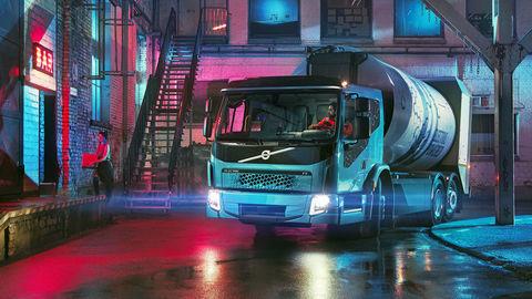 Ďalší elektrický truck Volvo