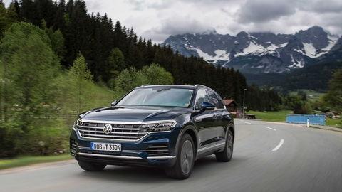 Volkswagen Touareg 3.0 TDI: Budúcnosť už dnes