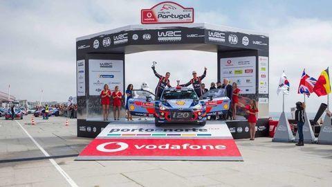 Thierry Neuville v Portugalsku vyhral a je v čele MS.