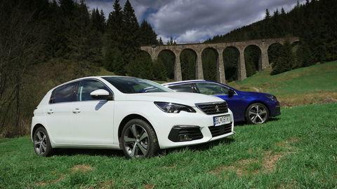 Peugeot 308 1,5 BlueHDi, Peugeot 308 SW GT 2,0 BlueHDi: Vyberáme služobné auto alebo nafta ešte nevymrela