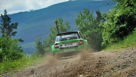 Náročnú Rallye Tatry vyhral Martin Koči, fotil Daniel Hlinka