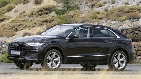 Audi Q8 tesne pred premiérou