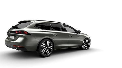 Peugeot ukázal pekné kombi 508 SW