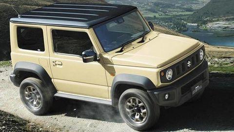 Nové Suzuki Jimny odhalili na prvých oficiálnych fotografiách