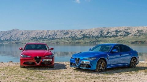 Alfa Romeo Giulia 2.2 D/Quadrifoglio: Spája ich silný základ