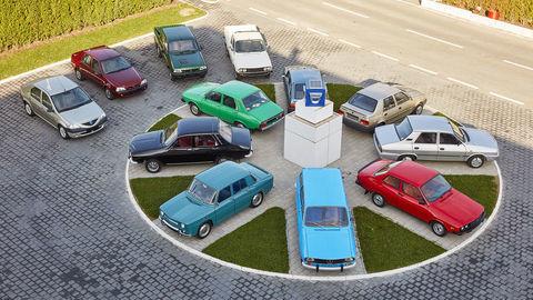 Dacia oslavuje päťdesiatku, mapujeme jej pestrú históriu