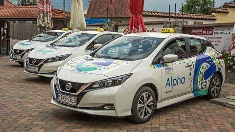 Elektrické Taxi v Martine