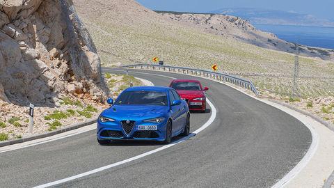 Motoring: Dve tváre Alfy Romeo Giulia na ceste do Chorvátska