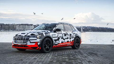 Elektrické Audi e-tron predstavia v septembri